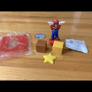 McDonalds Super Mario stacking game toy